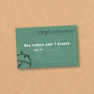 Bon cadeau Brunch L'impertinence Grenoble